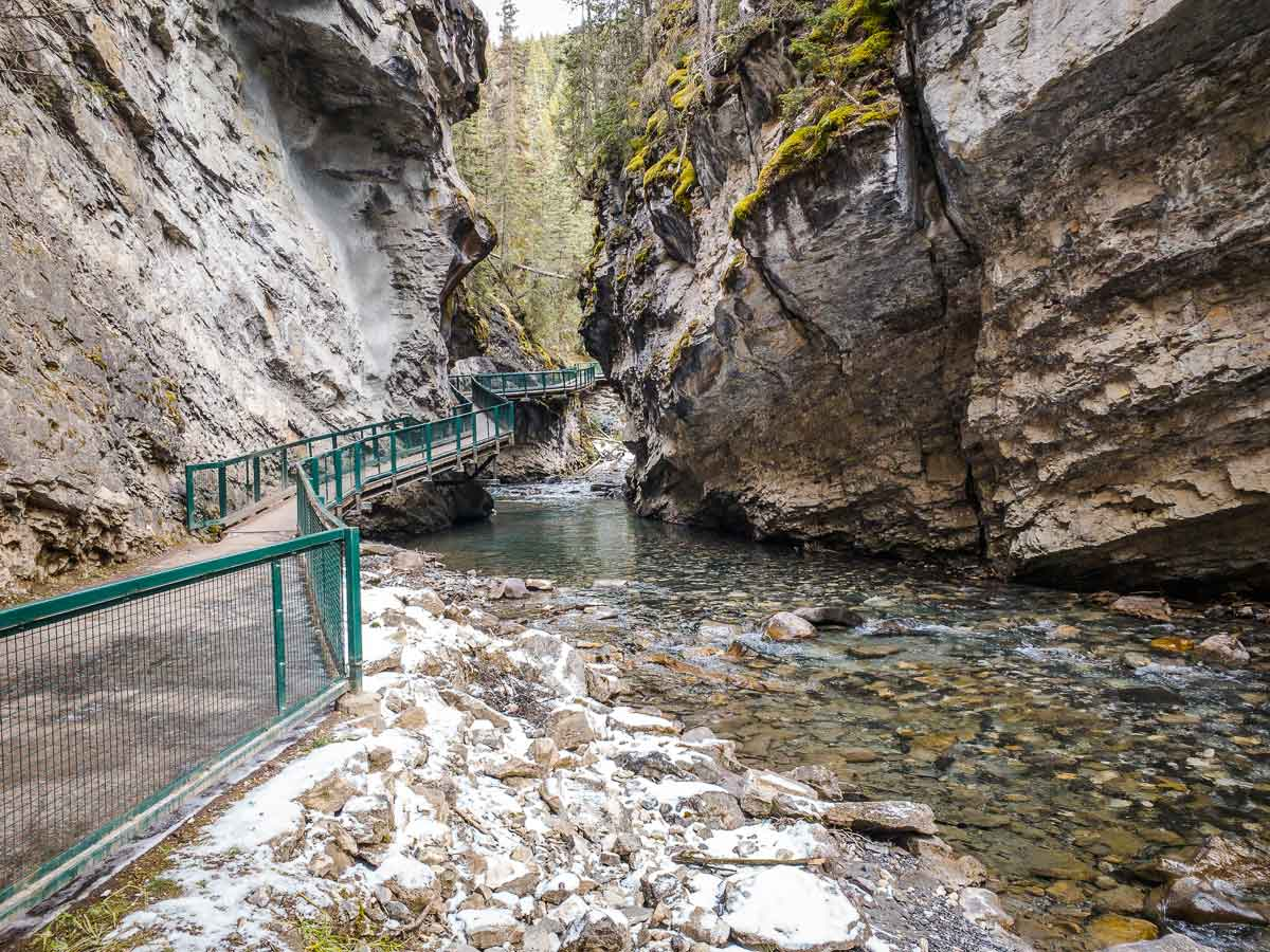 Johnston Canyon hiking - Best things to do in Banff