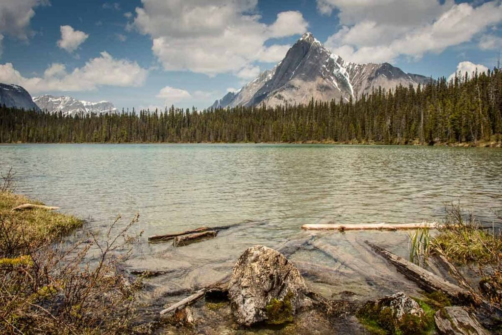 watridge lake in Kananaskis