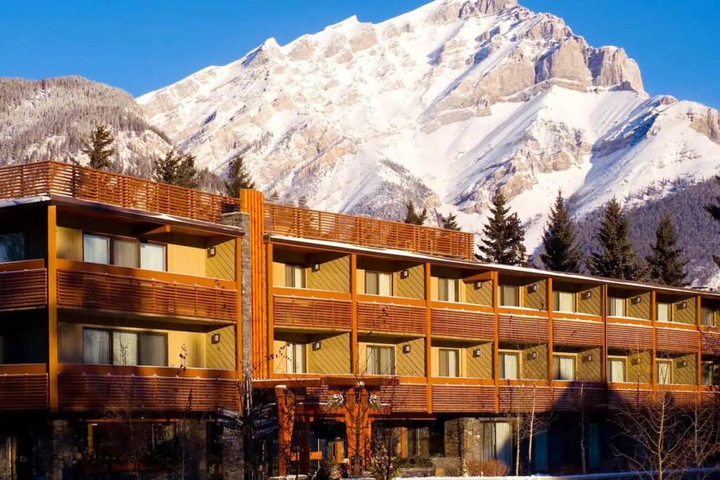 The Banff Aspen Lodge in Banff National Park