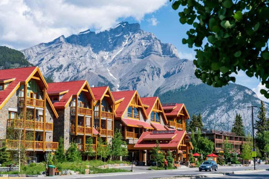 The Moose Hotel & Suites is located on Banff Avenue