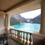 The world-famous Fairmont Chateau Lake Louise