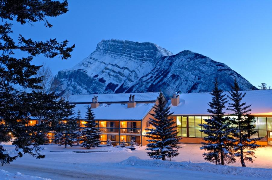 Douglas Fir Resort in the Tunnel Mountain area of Banff National Park