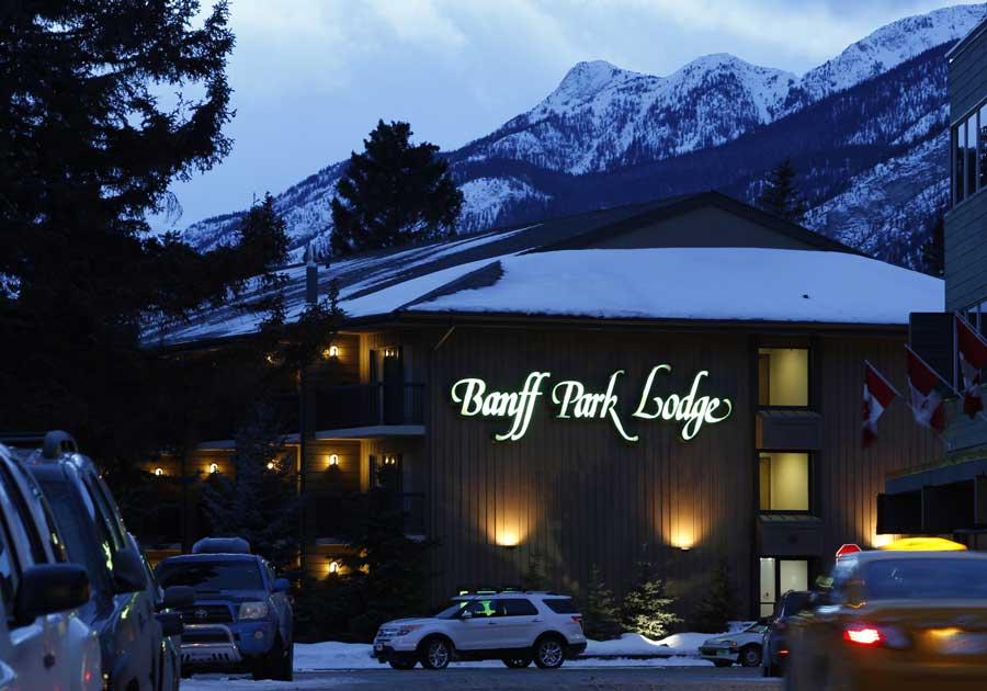 The Banff Park Lodge is one of the best hotels in Banff