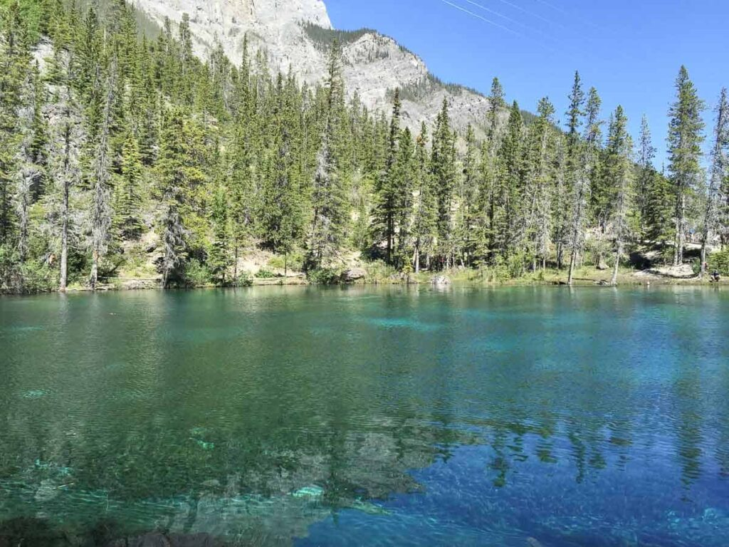 Grassi Lakes is one of our favorite family hikes in Alberta