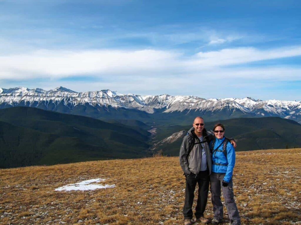 what to wear for hikes around Banff Canada