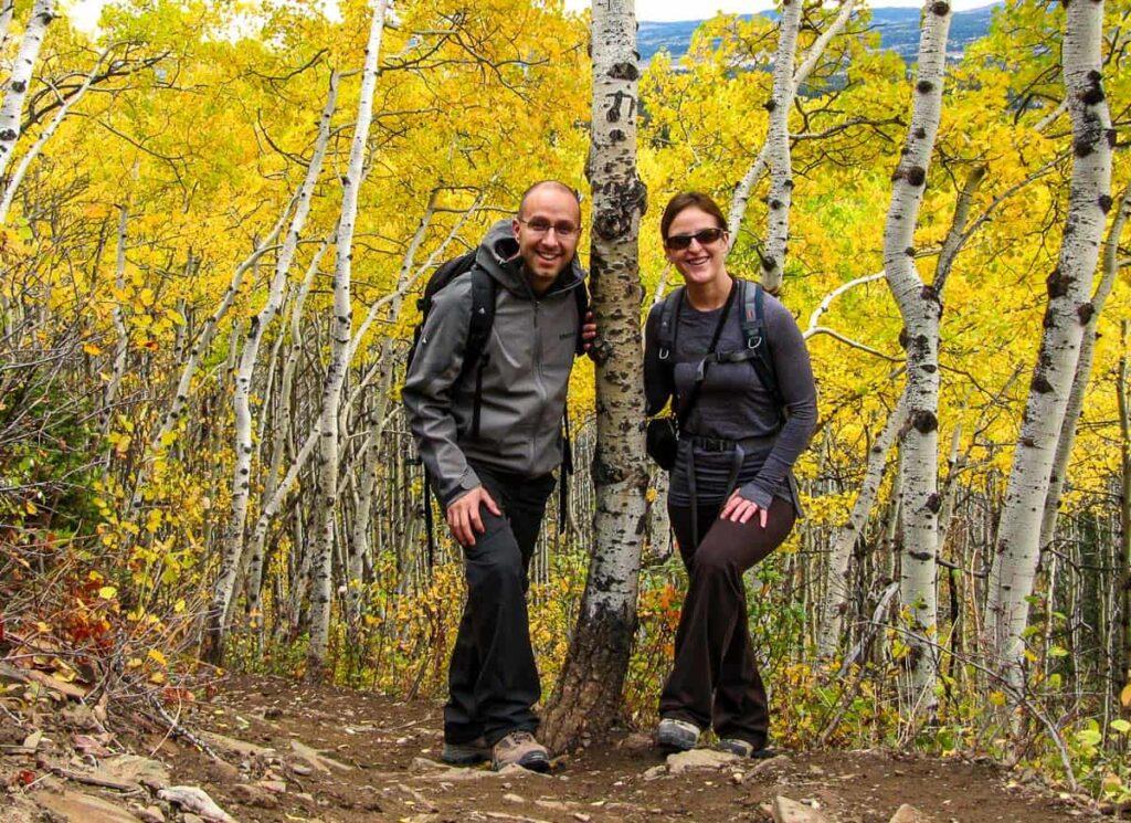 Banff hiking equipment essentials for September, October and November