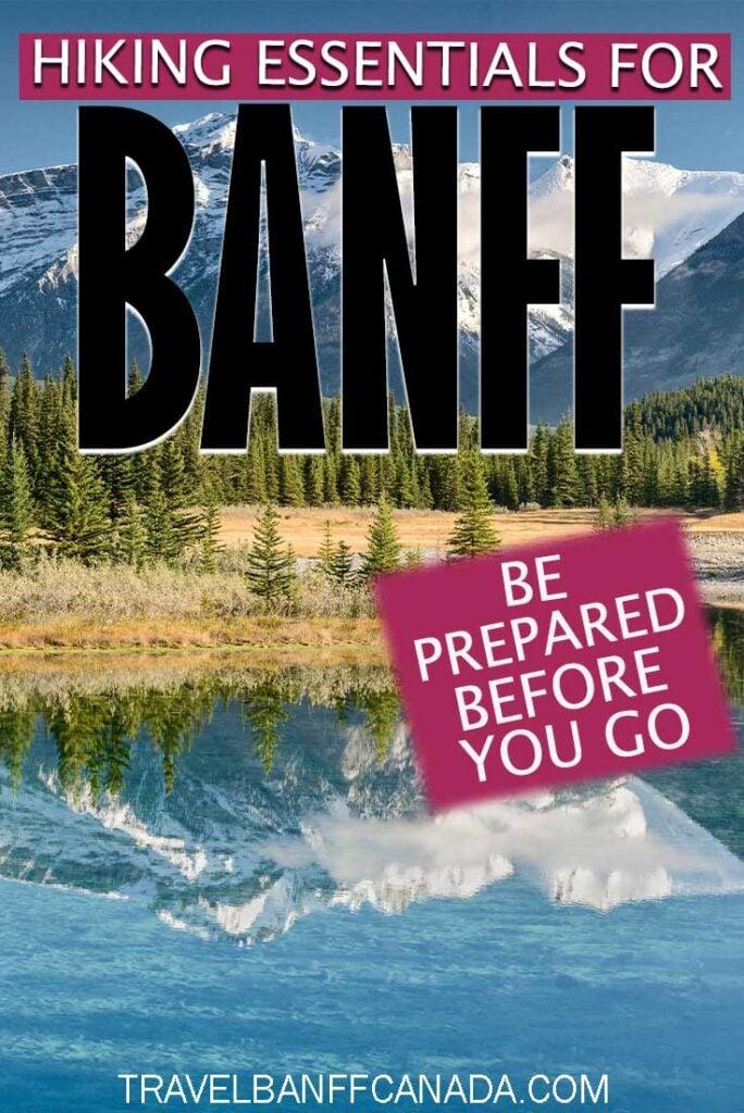 Hiking Essentials for Banff