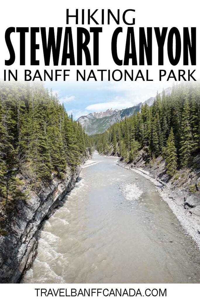 Hiking Stewart Canyon in Banff National Park. Get all the details on this hiking trail that leaves from Lake Minnewanka in Banff NP.