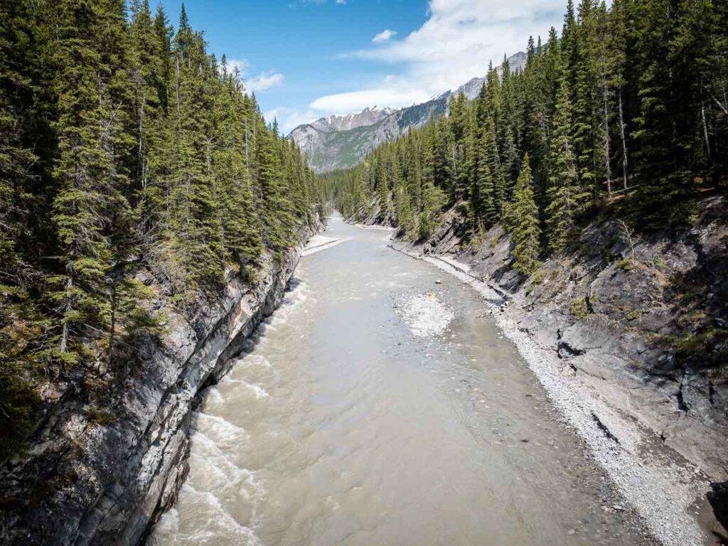 Stewart Canyon near Banff