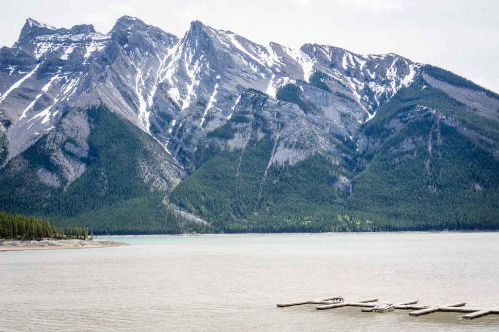 Lake Minnewanka - top things to do in banff
