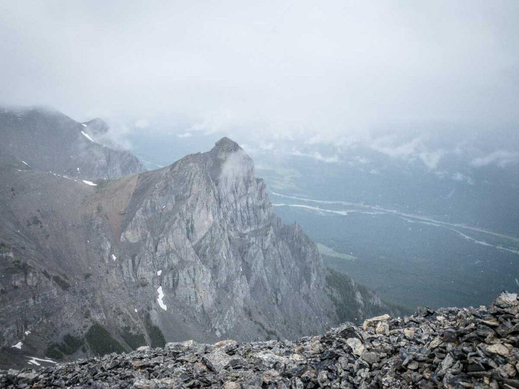 """Kids may want to go on the """"Eeyore"""" hike, but EEOR is not kids play. It's a very difficult hike near Canmore, Alberta"""