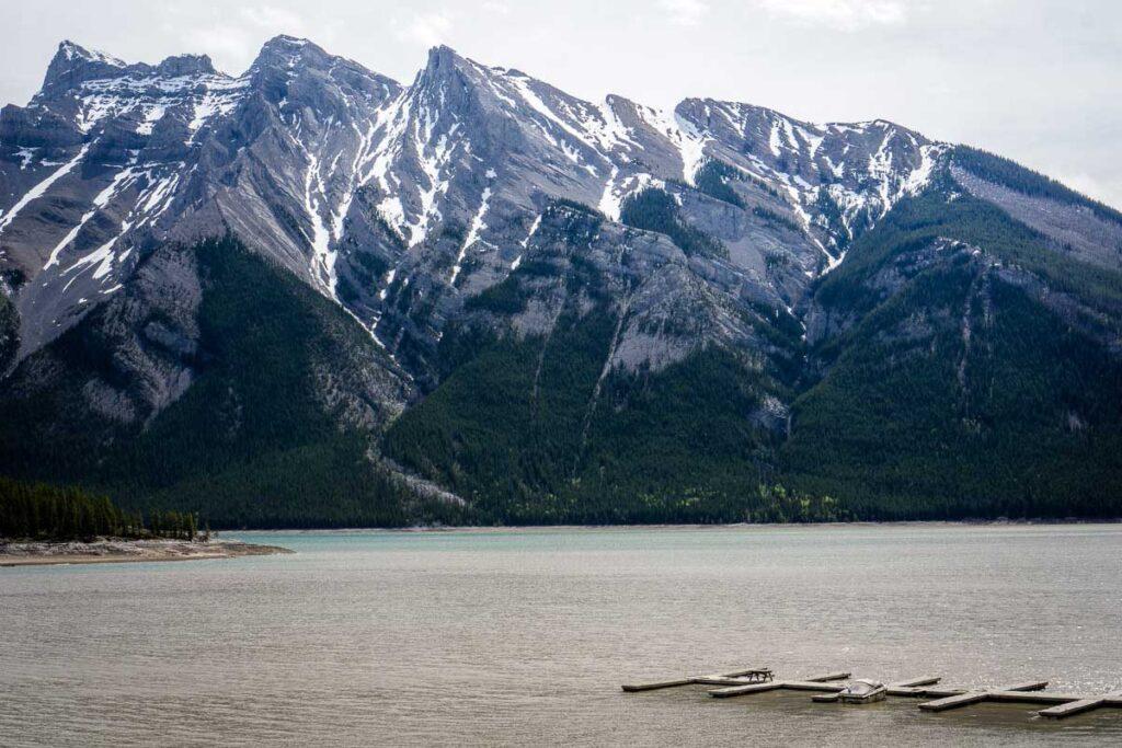 boat launch Lake Minnewanka Banff