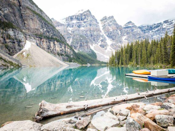 How to Get to Moraine Lake in Banff National Park