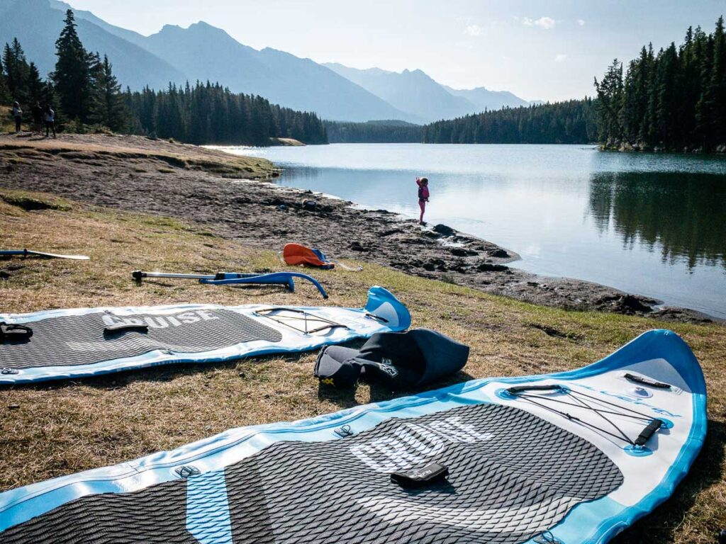 SUP Banff - Johnson Lake