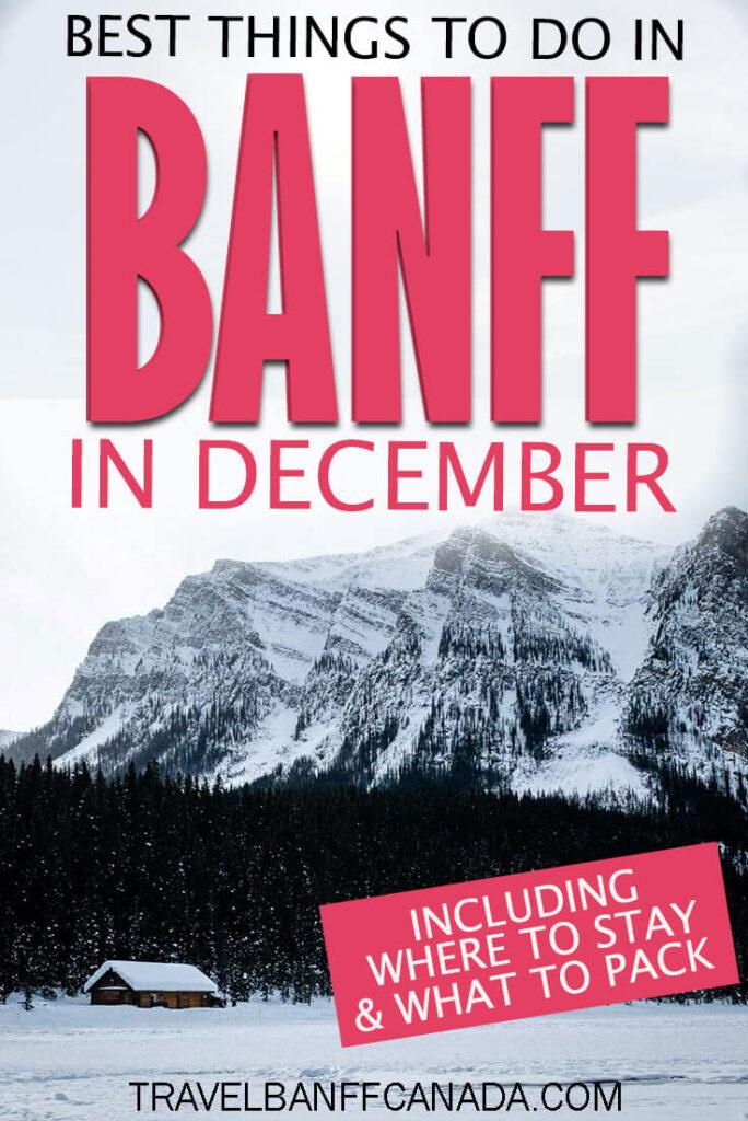 Banff in December