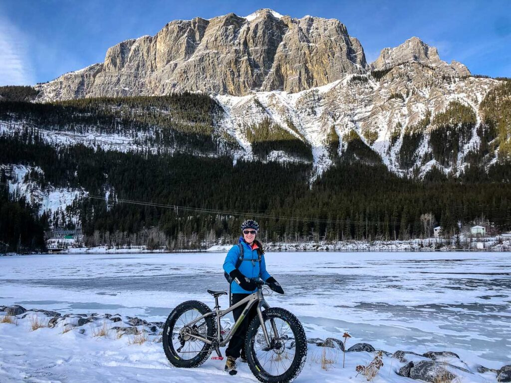 fat biking in canmore