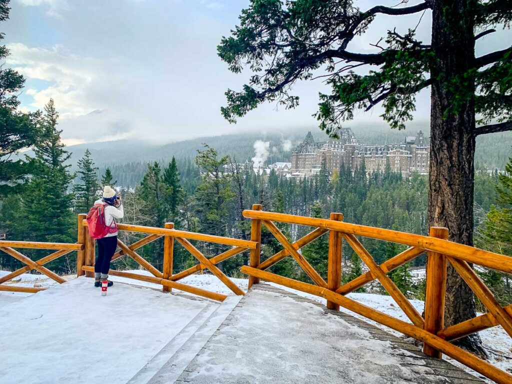 winter activities Banff