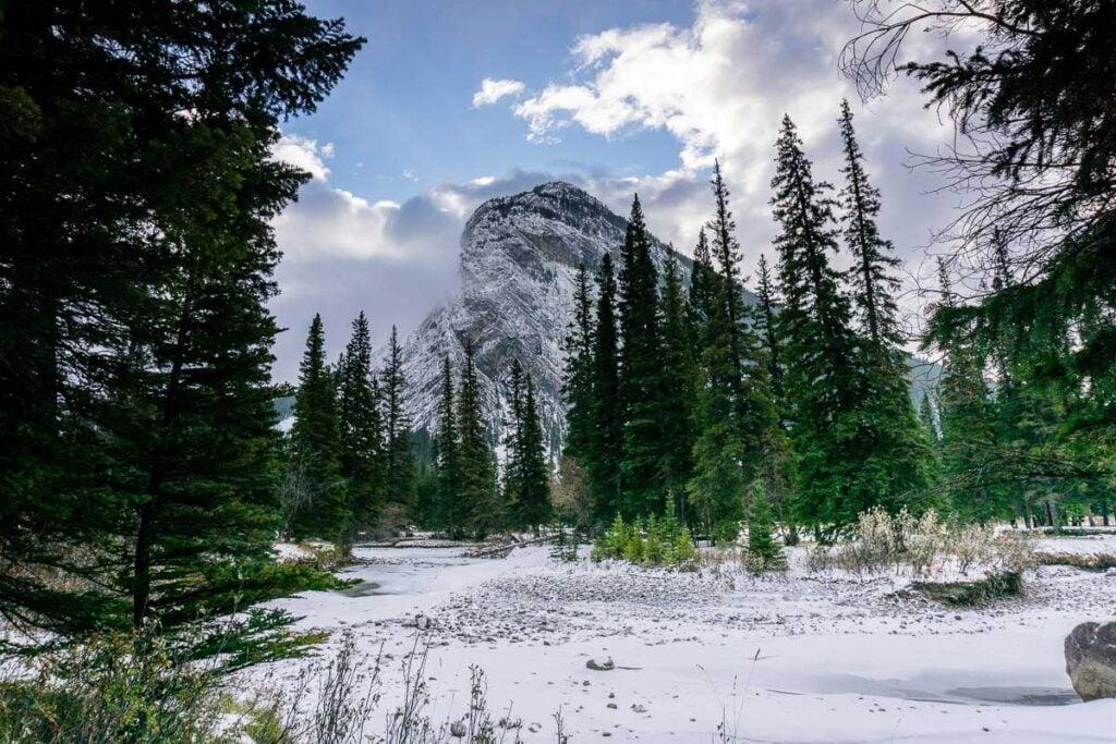 winter walk - banff things to do winter