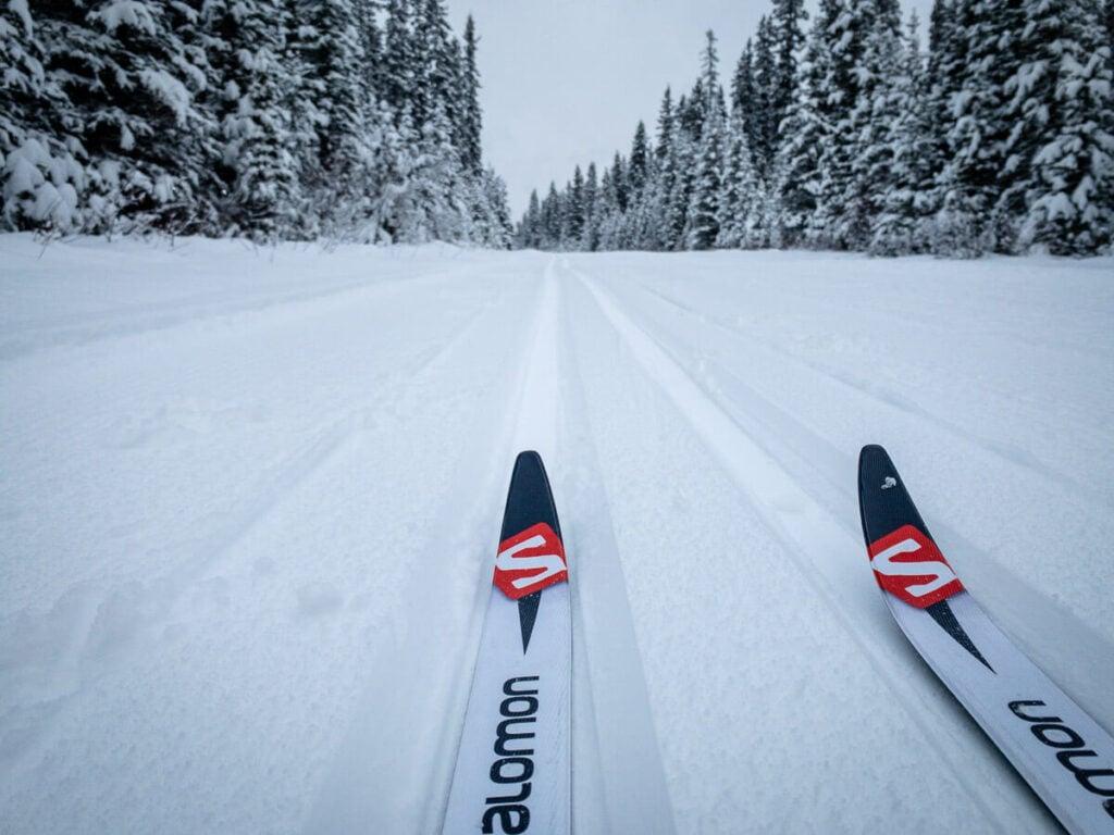 Easy Cross-Country Ski Trails in Banff, Lake Louise and Kananaskis