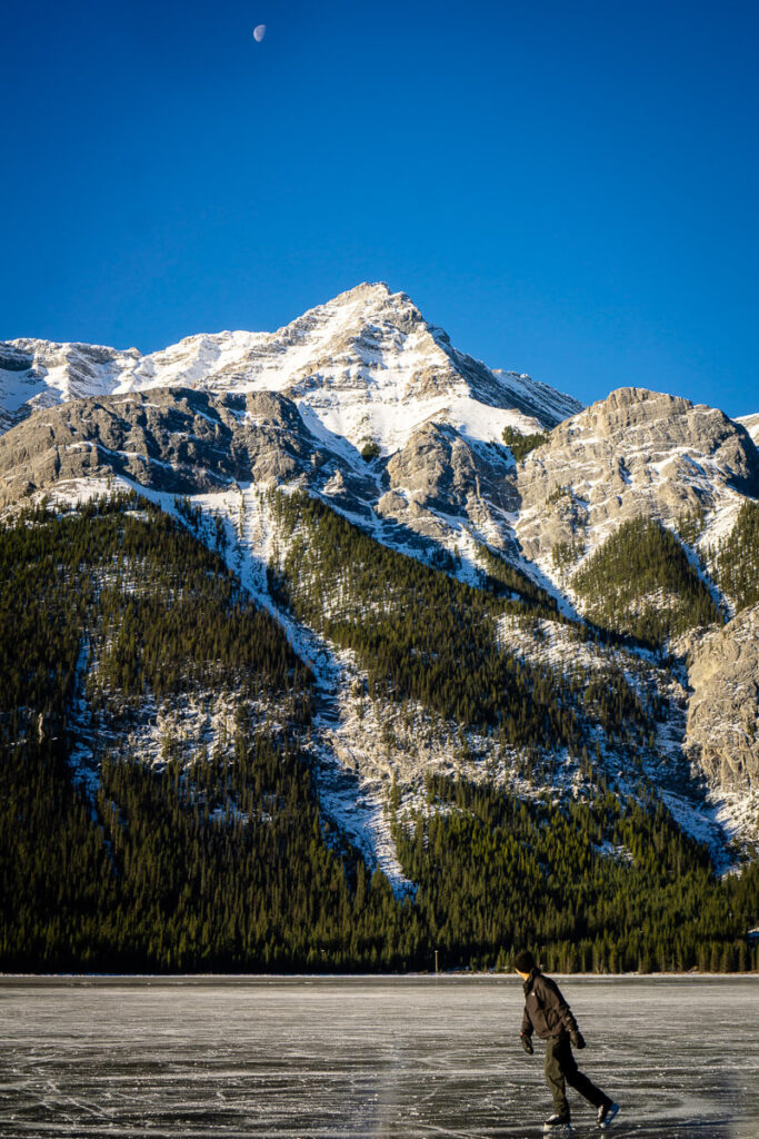 where to skate in kananaskis