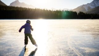 canmore outdoor skating