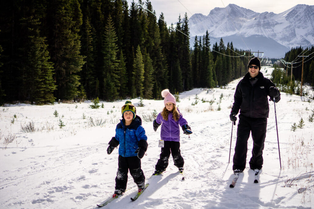 Kananaskis offers great cross country skiing near Canmore