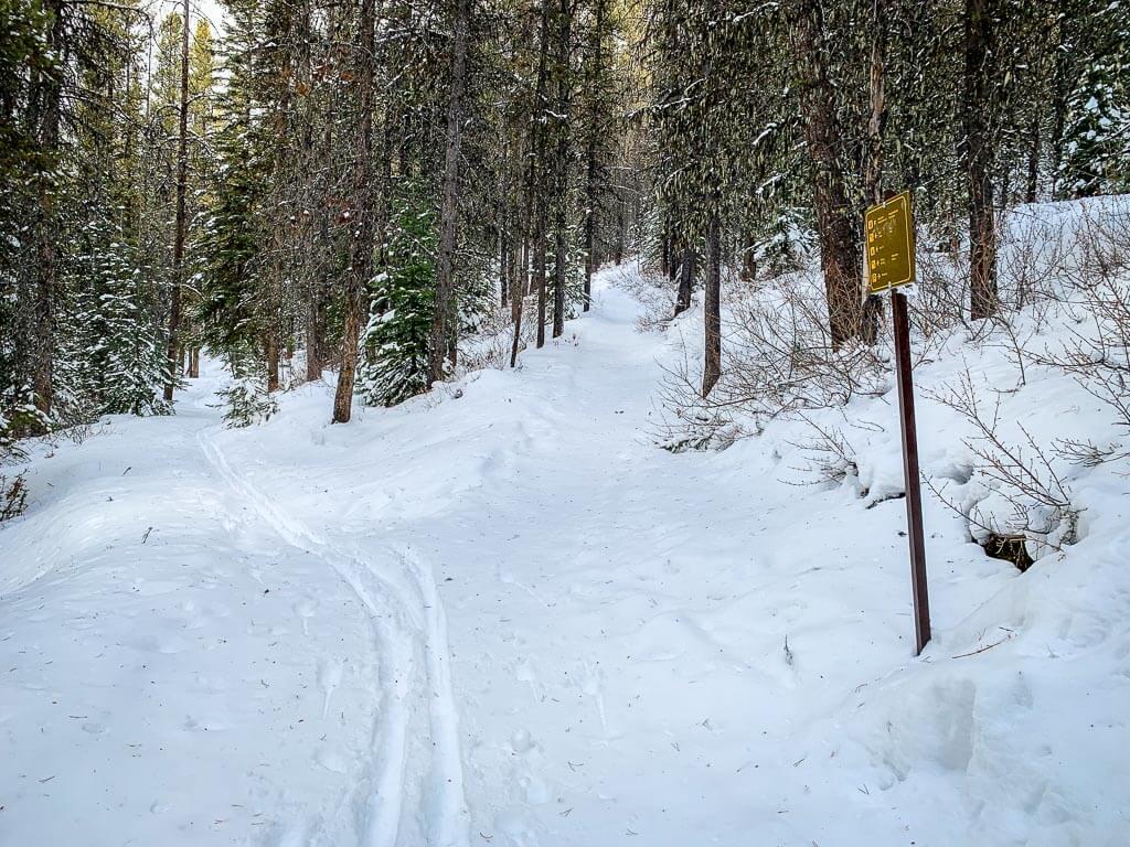 The Cascade Amphitheatre trail distance is 12.8km