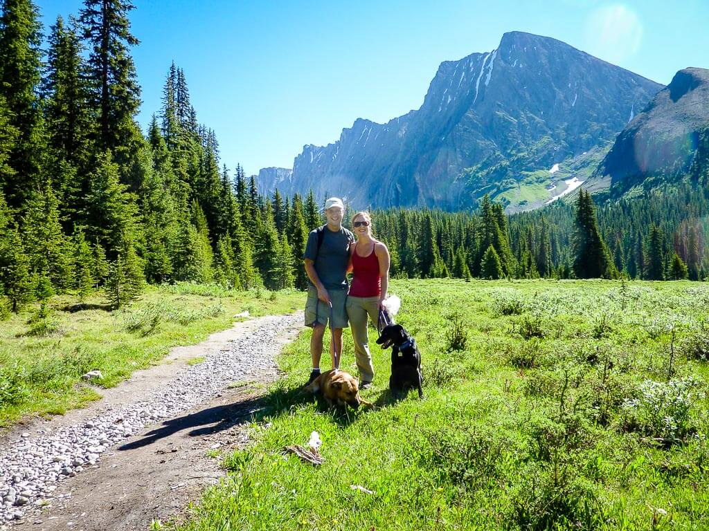 The upper meadow on the Chester Lake hike provides some of the best scenery in Kananaskis, Alberta