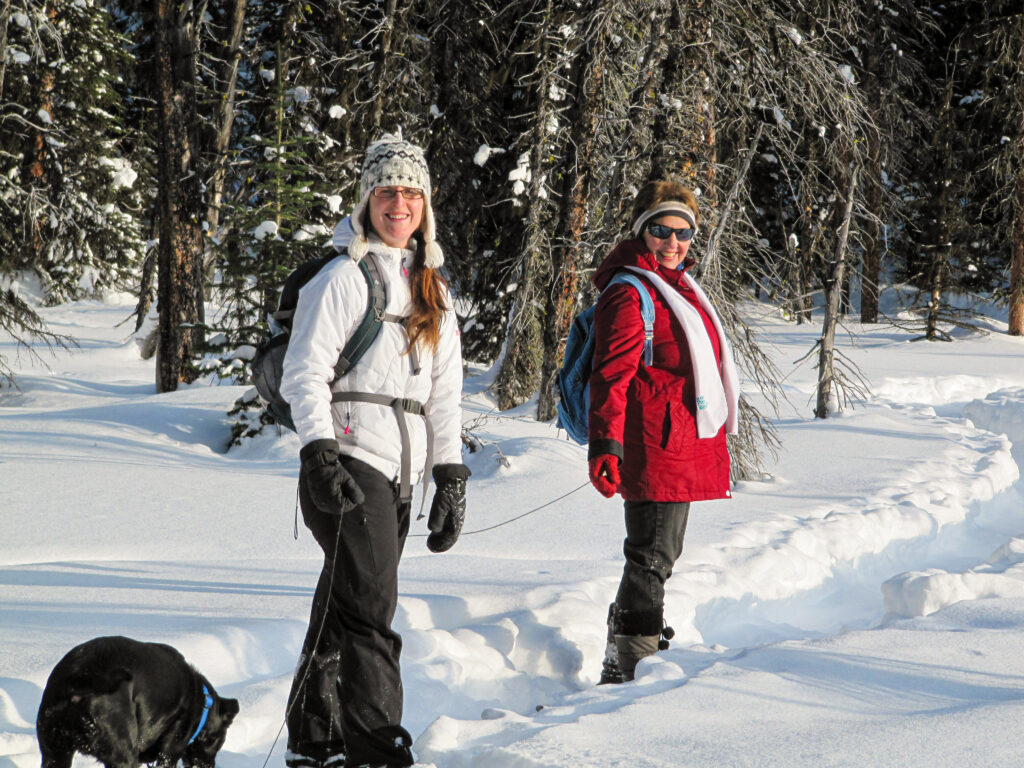How to dress in winter in Banff and Kananaskis