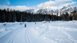 Easy Cross-Country Ski Trails in Kananaskis and Banff