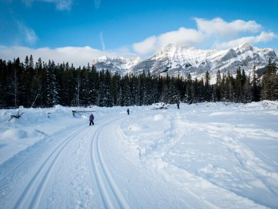 7 Easy Cross-Country Ski Trails in Banff and Area