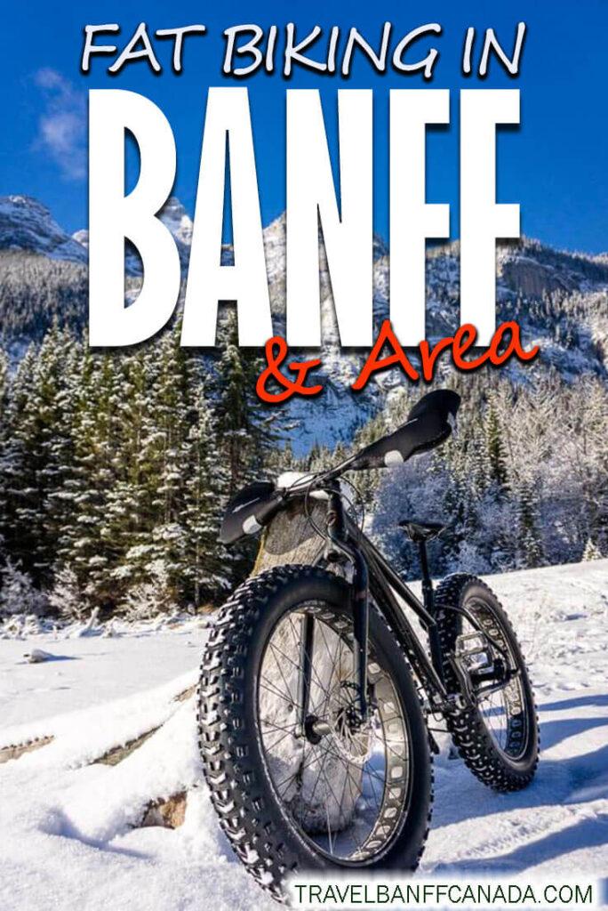 Fat Biking Banff Canmore Kananaskis
