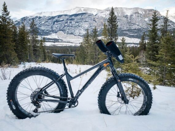 Fat Biking in Banff, Canmore and Kananaskis