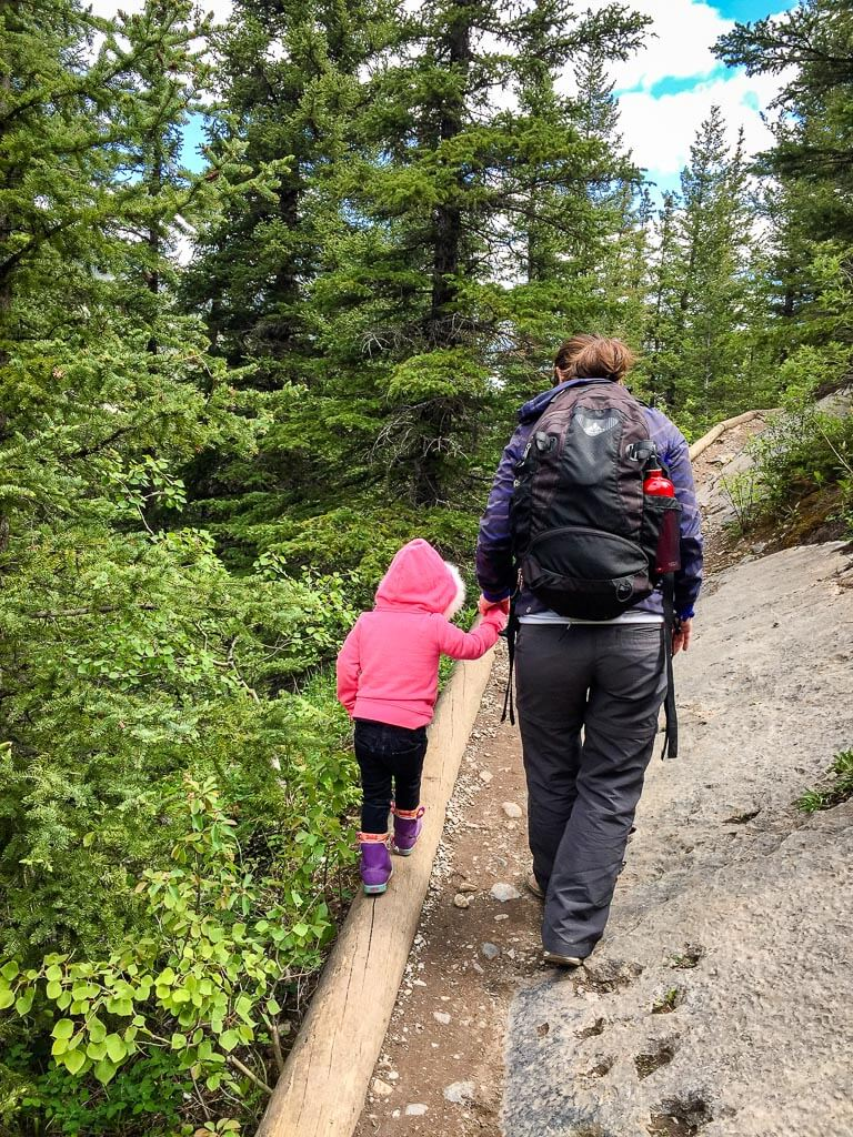 Heart Creek is one of the best kid-friendly hikes near Calgary