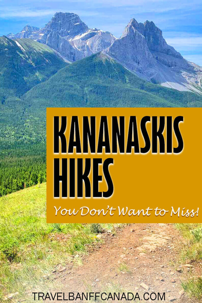 Hikes in Kananaskis that should be on everyone's list. These hikes have incredible mountain views, a mountain lake or both.