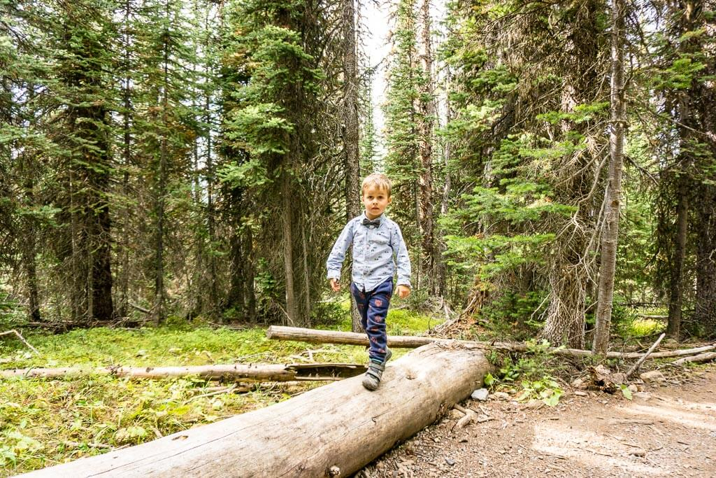 kid-friendly hikes in Kananaskis - Chester Lake is a little hard, but most kids will enjoy it