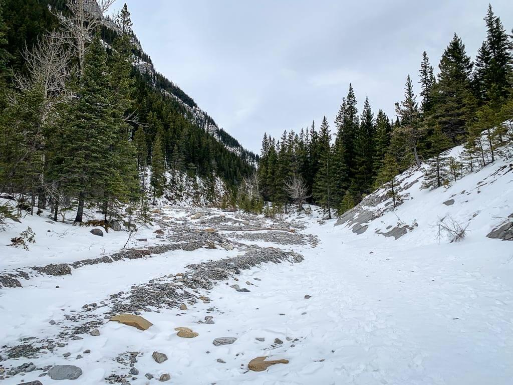 The distance of Jura Creek Trail is 6.9km long