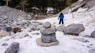 The Jura Creek Trail in winter - a kid-friendly Kananaskis hike