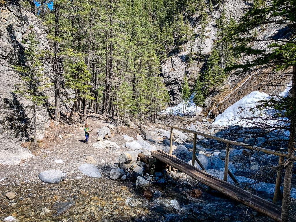 Kids love the family-friendly Heart Creek hike