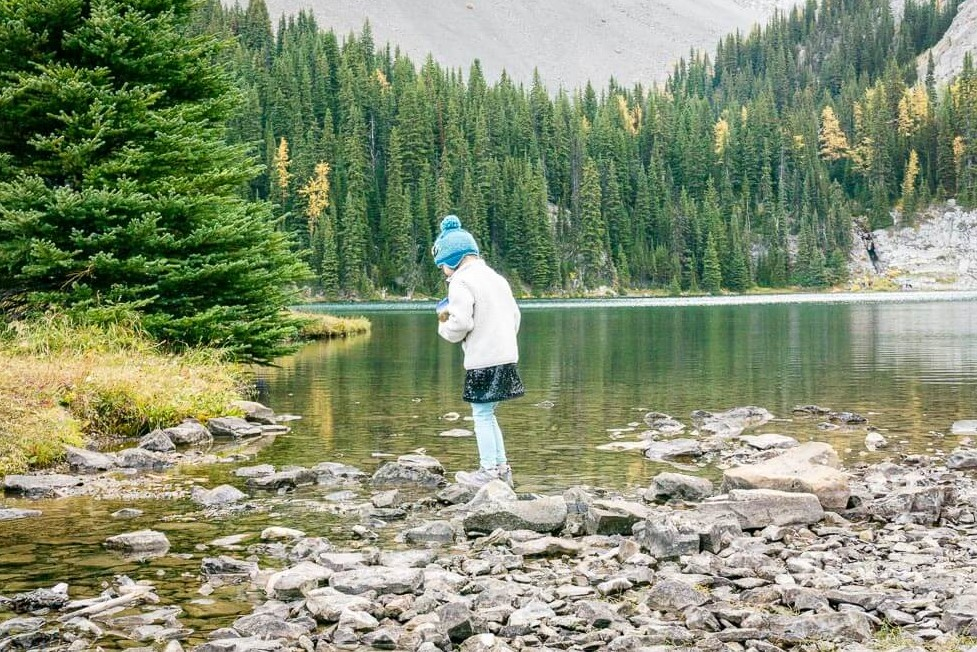 Chester Lake is a kid-friendly hike in Kananaskis Country