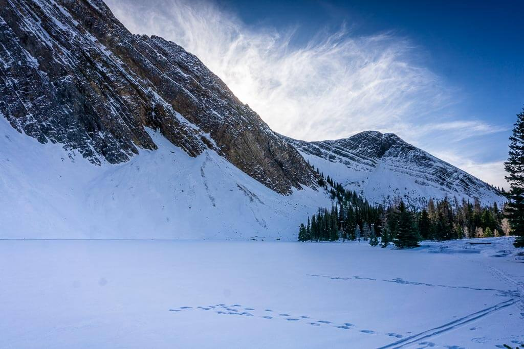 Educate yourself on avalanche risk and safety before enjoying the Chester Lake snowshoe trail or winter hike