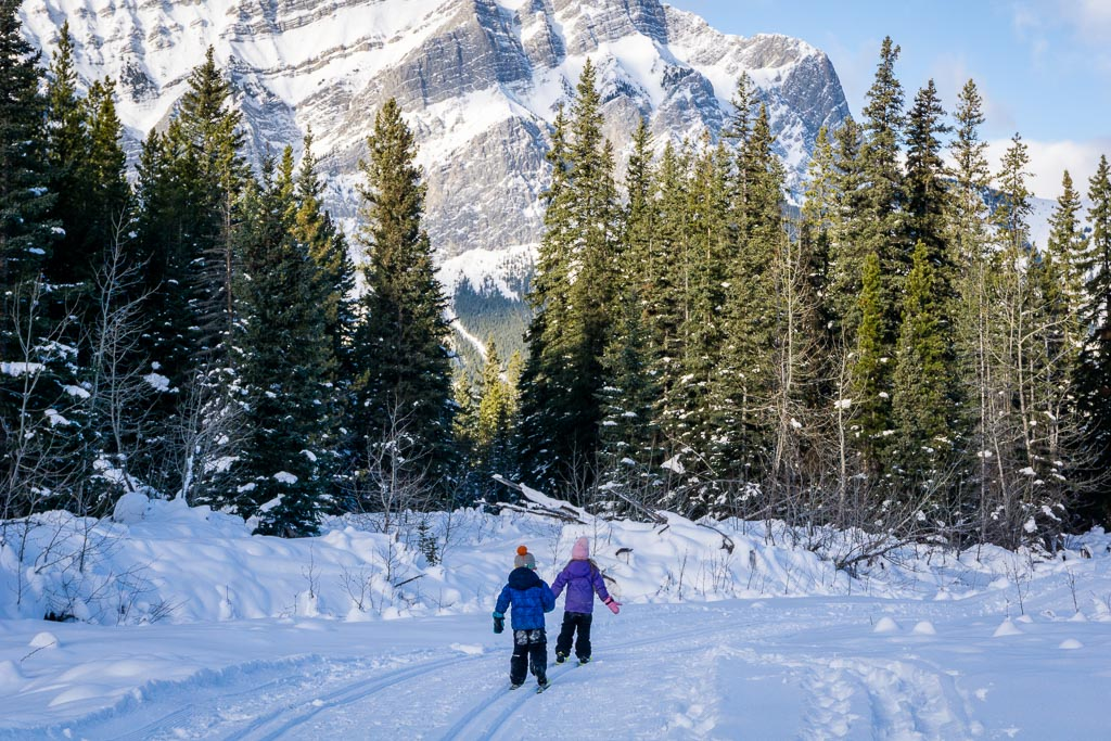Wedge Connector is one of the best easy Kananaskis ski trails