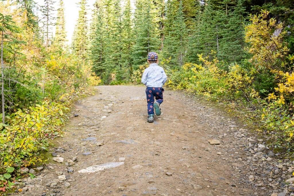 Kids can still enjoy moderate Kananaskis hikes like the Chester Lake Trail