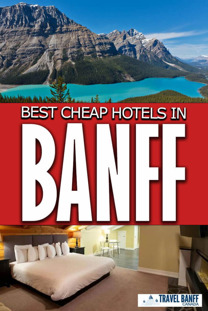 Banff can be expensive, before you book your trip check out these best cheap hotels in Banff. These budget friendly hotels in Banff are worth a look and will help you save money in Banff for all the other fun things to do in Banff National Park.