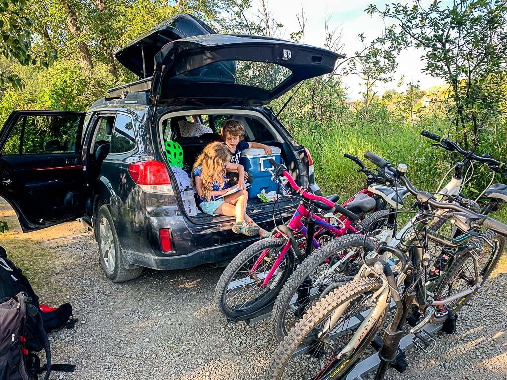 vehicle access camping in Kananaskis