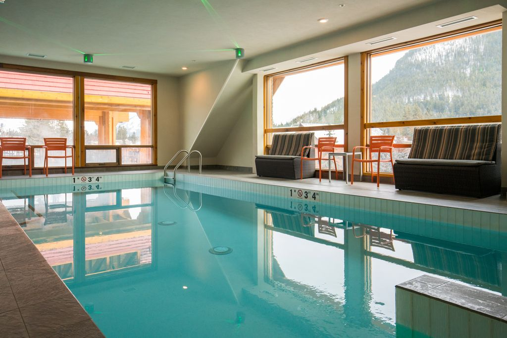 kid friendly hotels in banff with indoor pools - Moose Hotel
