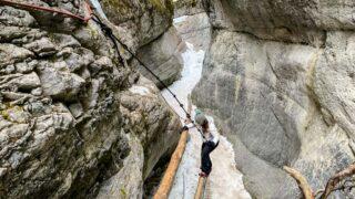 The McGillivray Creek & Canyon Trail is a fun winter hike in Kananaskis