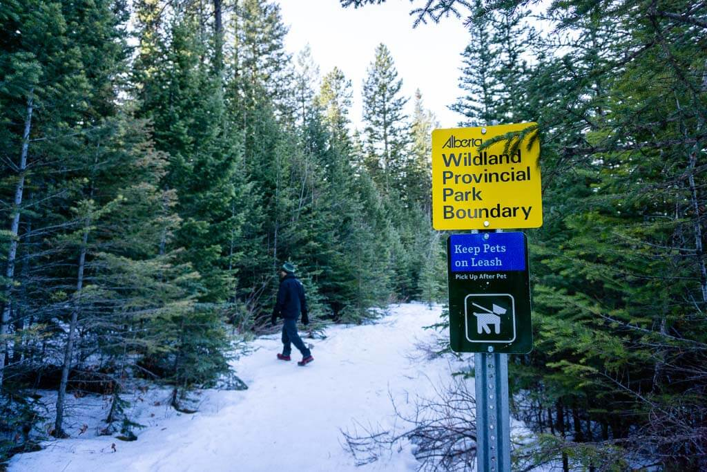 The McGillivray Canyon Trail is unmarked - we recommend having a map on your favorite hiking app
