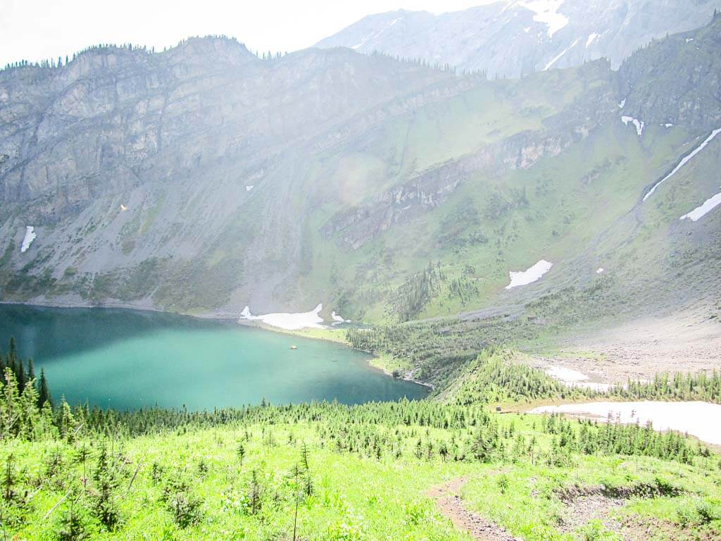 hike to Rawson Lake Kananaskis
