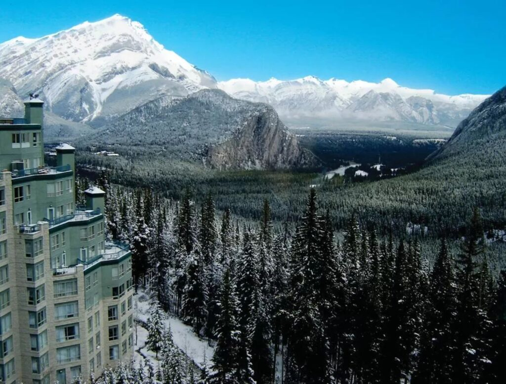 The Rimrock Hotel is one of the best kid-friendly hotels in Banff